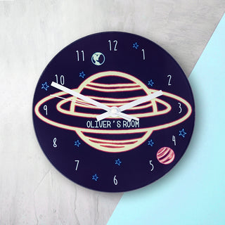 Personalised Space Wall Clock