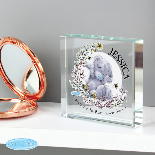 Personalised Me to You Bees Large Crystal Token