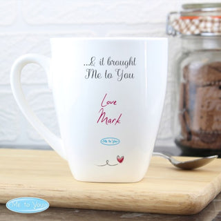 Personalised Me To You Heart Latte Mug from Pukkagifts.uk