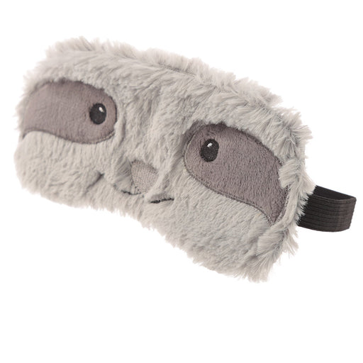 Plush Grey Sloth Eye Mask