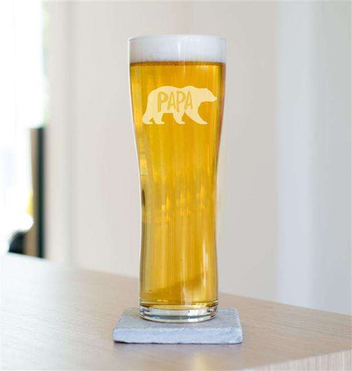 Papa Bear Pint Glass from Pukkagifts.uk