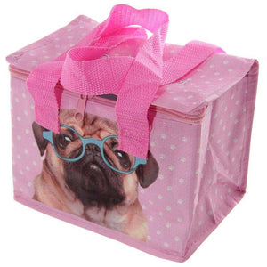 Pink Pug Lunch Bag,Pukka Gifts
