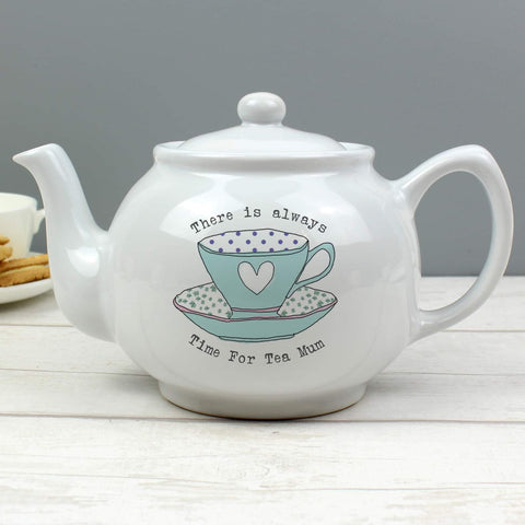 Personalised Vintage Tea Cup Teapot from Pukkagifts.uk