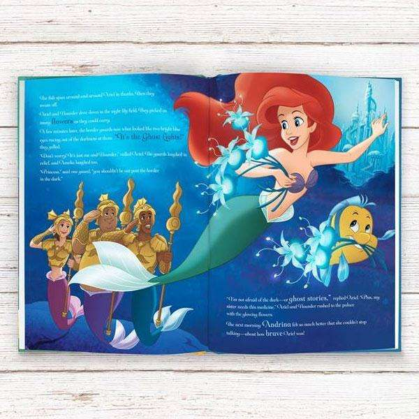 Personalised Disney Princesses' Tales of Bravery Story Book from Pukkagifts.uk