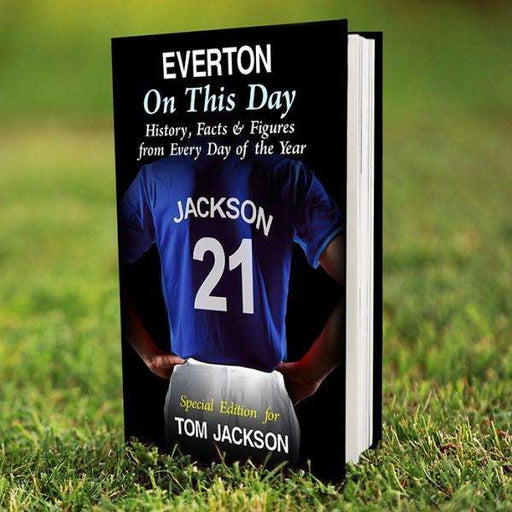Personalised Everton On This Day Book from Pukkagifts.uk