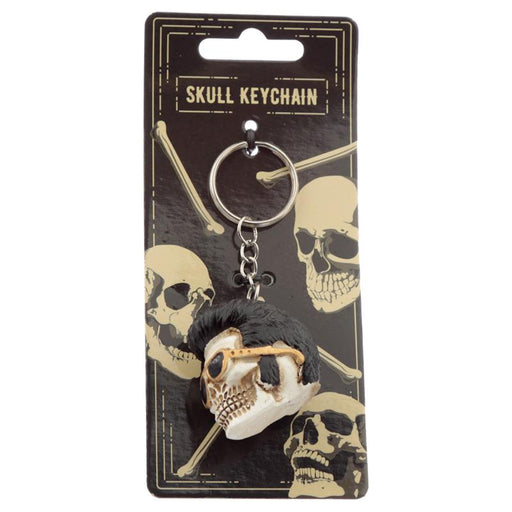 The King Skull Keyring