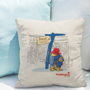 Personalised Paddington Bear Cushion