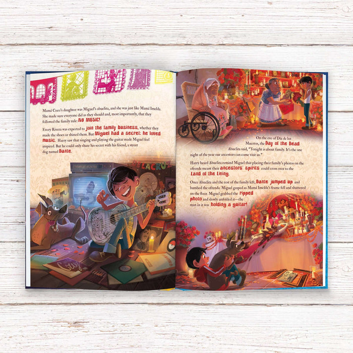 Personalised Disney Coco Book from Pukkagifts.uk