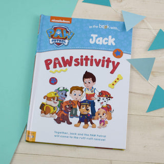 Personalised Paw Patrol Book - Pawsitivity