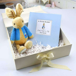 Peter Rabbit Book And Soft Toy Box Gift Set from Pukkagifts.uk