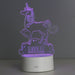 Personalised Unicorn LED Colour Changing Night Light
