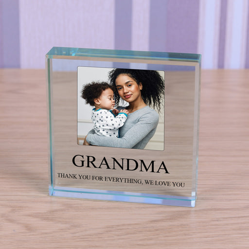 Personalised Photo Glass Token