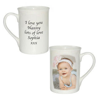 Personalised Bone China Photo Windsor Mug