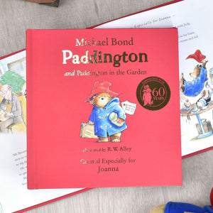 Personalised Paddington Bear Story Book from Pukkagifts.uk