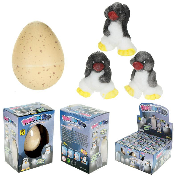 Hatching Penguin Egg Growing Pet Toy