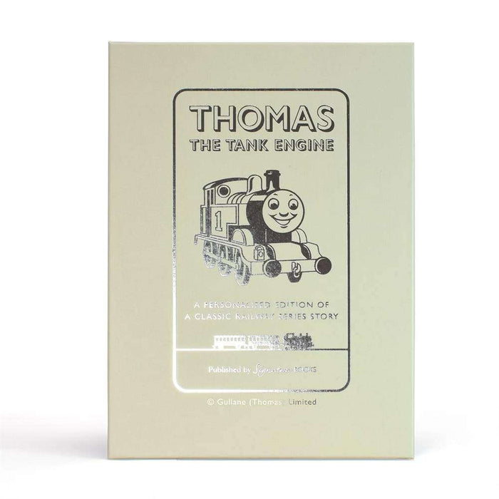 Personalised Thomas the Tank Engine Book from Pukkagifts.uk