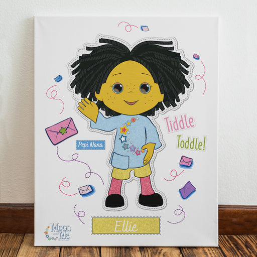 Personalised Moon and Me Pepi Nana Canvas