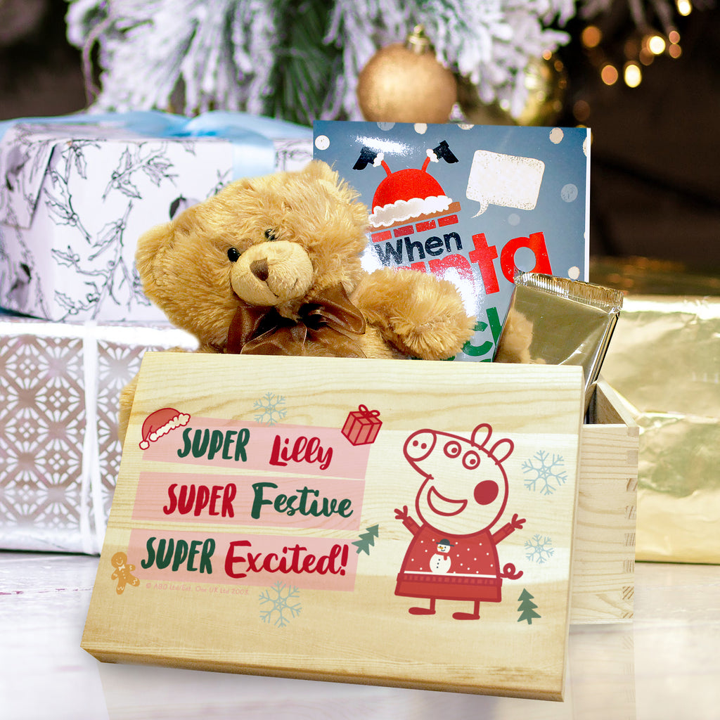 Personalised Peppa Pig Christmas Eve Box