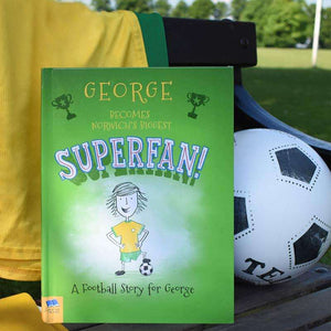 Personalised Football Superfan Book,Pukka Gifts