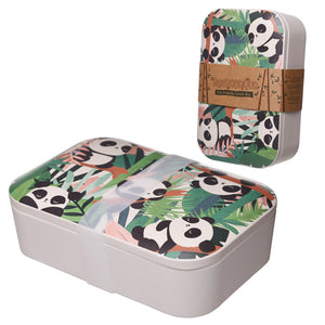 Panda Bamboo Eco Friendly Lunch Box