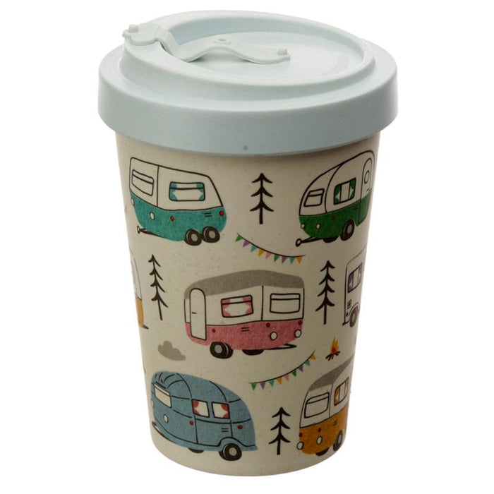 Wildwood Caravan Reusable Screw Top Bamboo Composite Travel Mug