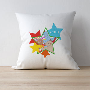 Personalised In The Night Garden Star Cushion