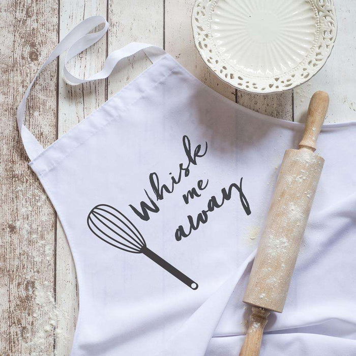 Whisk Me Away Apron from Pukkagifts.uk