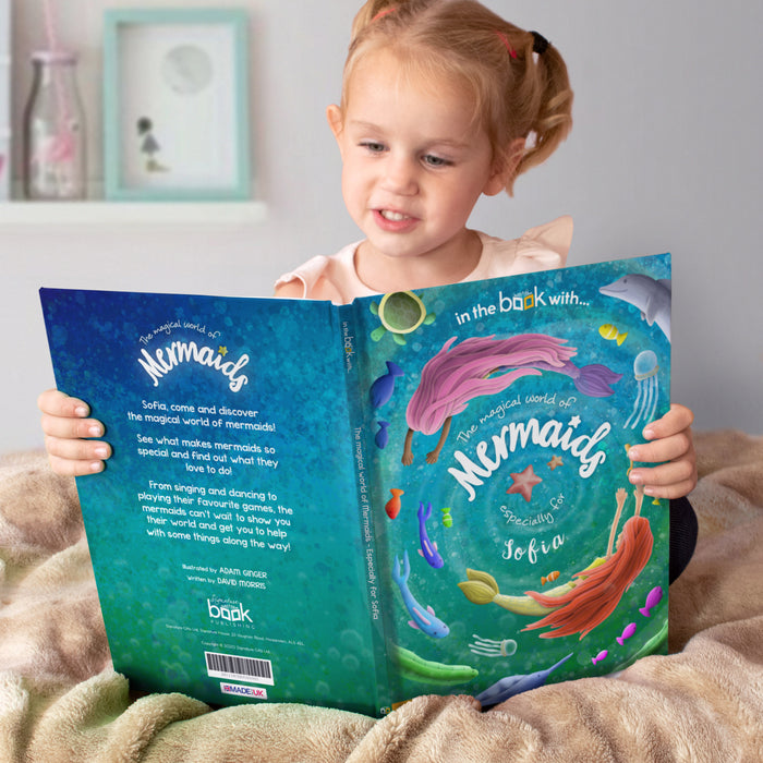 Personalised Mermaid Story Book