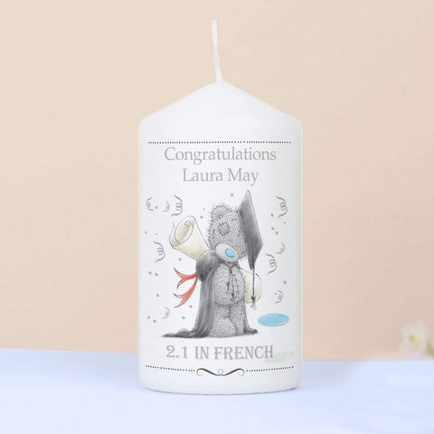 Personalised Me to You Graduation Candle from Pukkagifts.uk