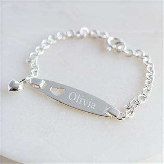 Personalised Baby's Identity Bracelet from Pukkagifts.uk
