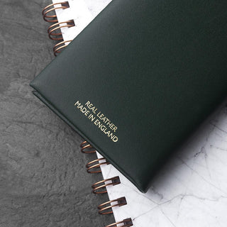 Personalised Leather Golf Note Book