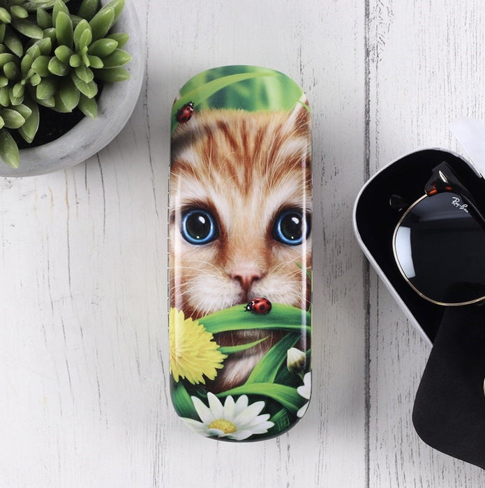 Summer Cat Glasses Case