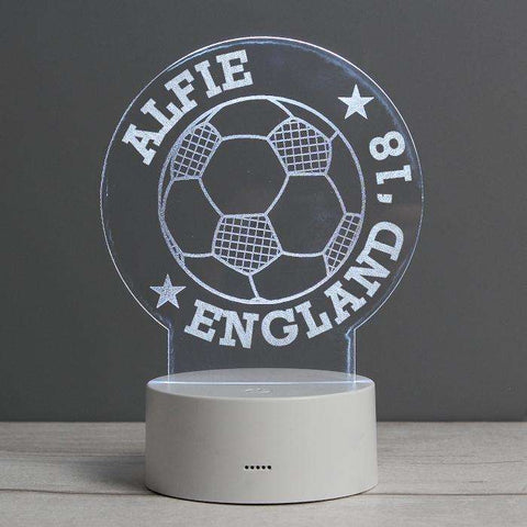Personalised Football Night Light,Pukka Gifts