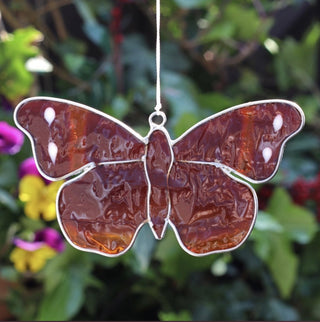 Red Admiral Butterfly Suncatcher