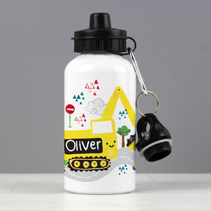 Personalised Digger Drinks Bottle