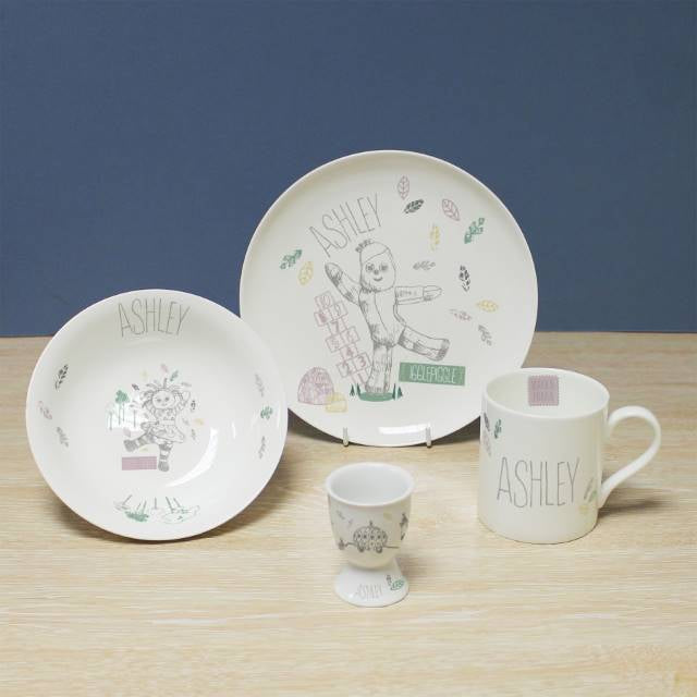 Personalised In The Night Garden Magic Garden Breakfast Set