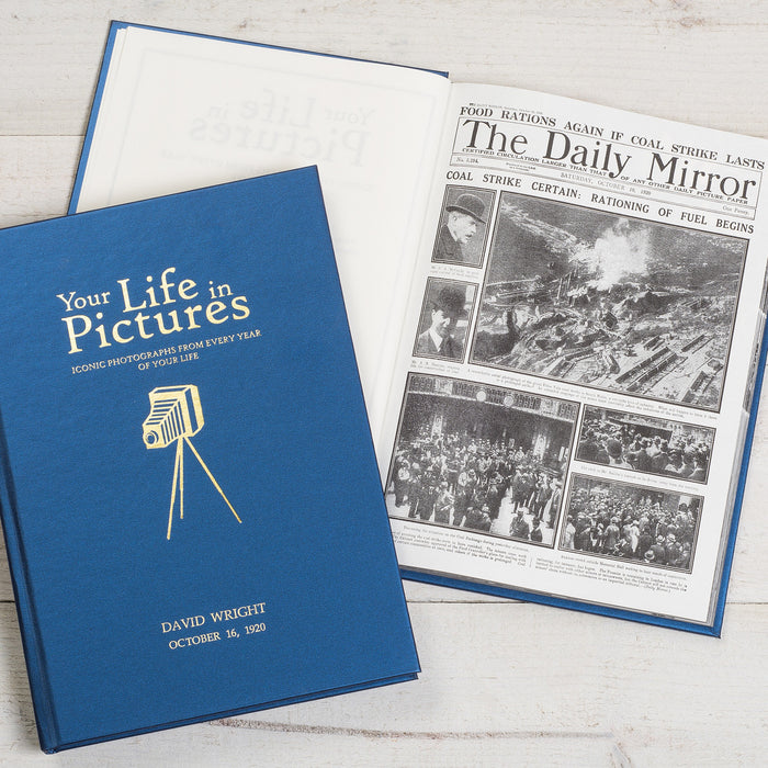Personalised Your Life In Pictures Book - www.pukkagifts.uk