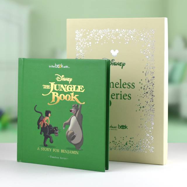 Personalised Disney Jungle Book Story Book from Pukkagifts.uk