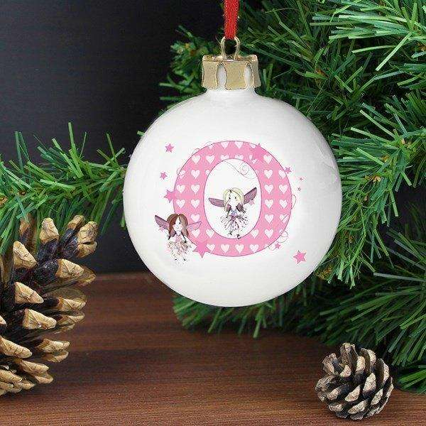 Personalised Fairy Bauble from Pukkagifts.uk