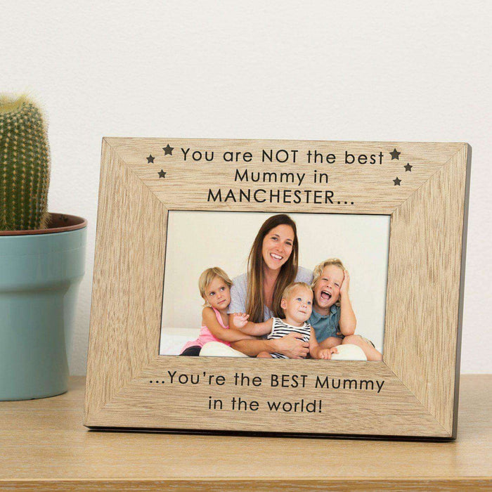 Personalised You're The BEST In The World Photo Frame from Pukkagifts.uk