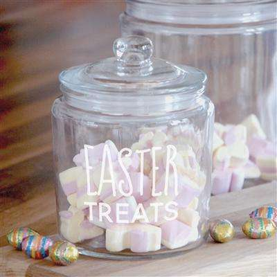 Easter Treats Jar from Pukkagifts.uk