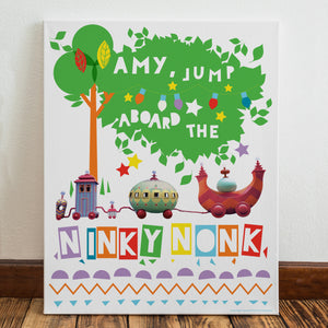 Personalised Ninky Nonk In The Night Garden Canvas