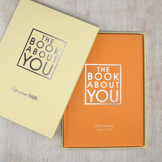 Personalised The Book About You from Pukkagifts.uk