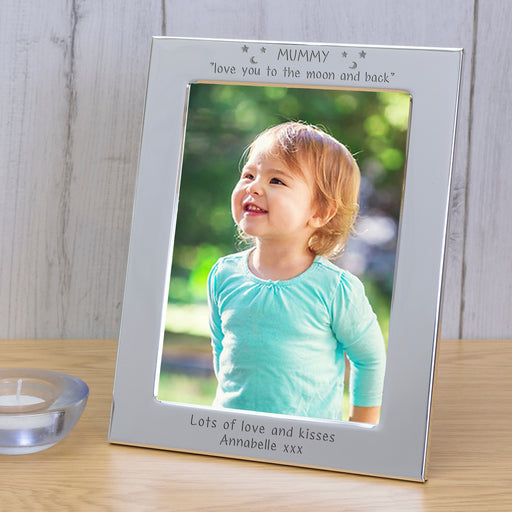 Personalised Mummy Love You To The Moon And Back Photo Frame