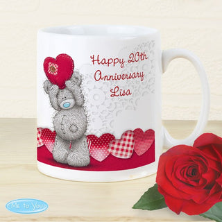 Personalised Me To You Heart Mug from Pukkagifts.uk