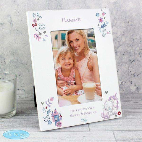Personalised Tiny Tatty Teddy Unicorn 4x6 Photo Frame from Pukkagifts.uk