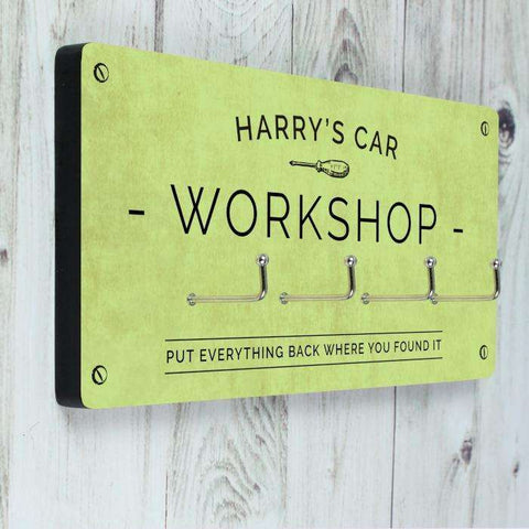 Personalised Workshop Hooks from Pukkagifts.uk