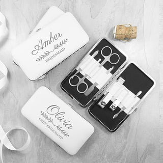 Personalised Bridal Party Manicure Set