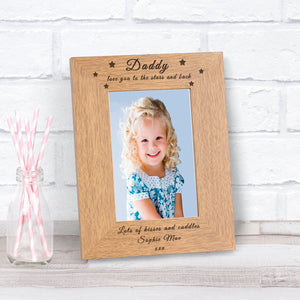 Personalised Love You To The Stars And Back Photo Frame