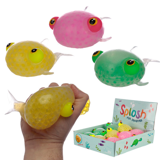 Fun Kids Squeezy Fish Toy from Pukkagifts.uk